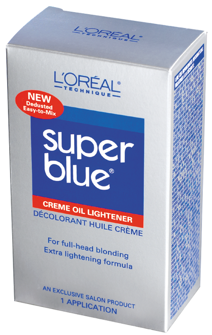 Super Blue Creme Oil Lightener Kit