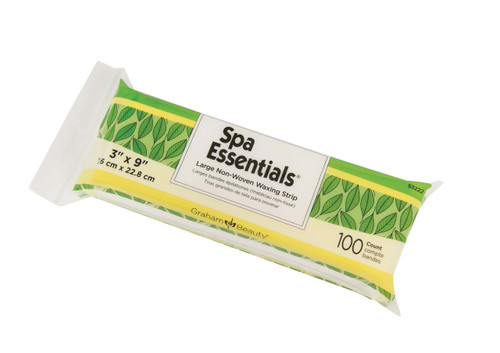 Spa Essentials Non-Woven Waxing Strips