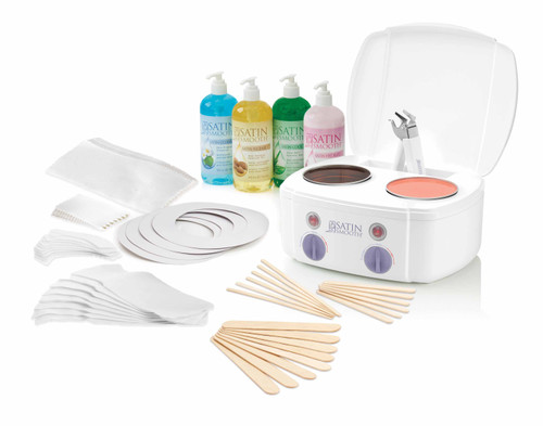 Double Warmer Waxing Kit
