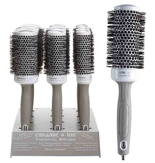 Ceramic + Ion Thermal Brushes