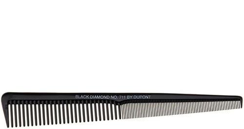 Black Diamond Tapered Barber Comb