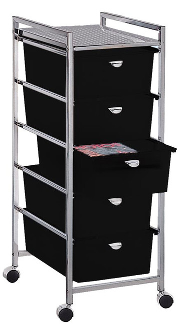 5 Tier Metal Frame Cart
