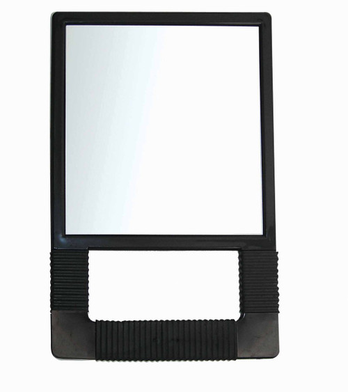 Hand Held Square Mirror