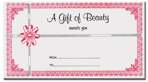 Gift Certificate Envelopes