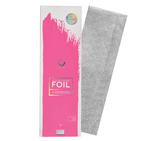 Extra Long Silver Embossed Foil Sheets