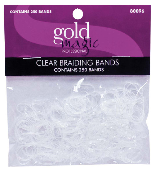 Clear Braiding Bands