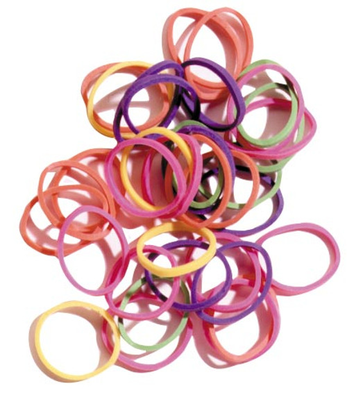 Bright Assorted Rubber Bands
