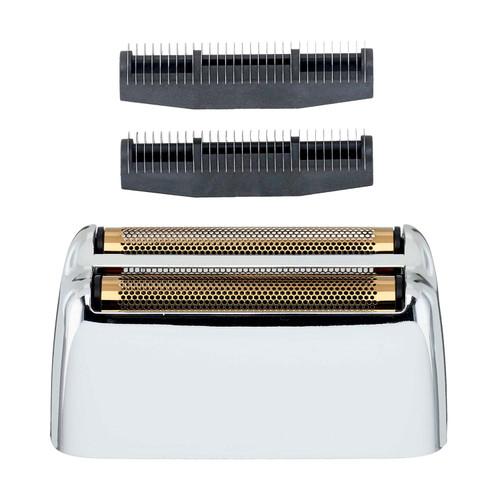 Babyliss Silver Double Metal Foil Shaver Replacement Foil & Cutter Bar
