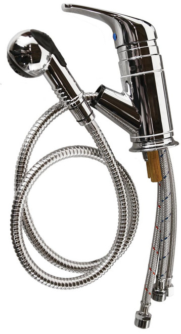 Faucet with Vacuum Breaker & Shampoo Hose