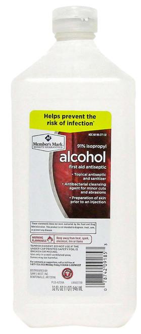 Isopropyl Alcohol (91%)