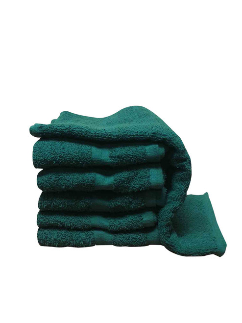 Premium Hand Towels - Hunter Green Inventory Reduction