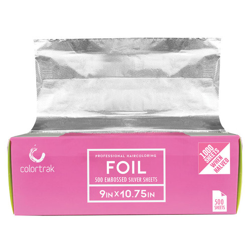 """Colortrak Wax Width 9"""" x 10-3/4"""" Embossed Pop-Up Foil Sheets"""
