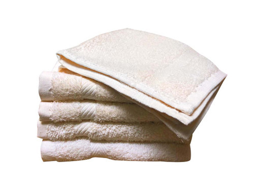 Majestic Wash Cloths - Beige Inventory Reduction