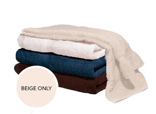 Majestic Bath Towels - Beige Inventory Reduction