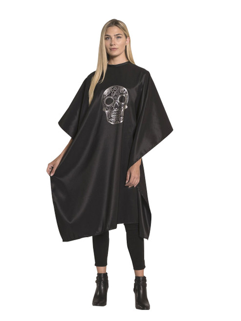 Sugar Skull Styling Cape