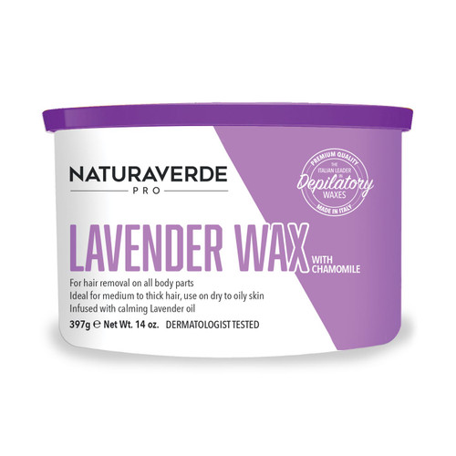 Naturaverde Pro Lavender Wax with Chamomile