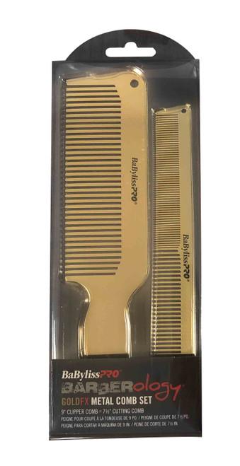 Gold FX Metal Comb Set