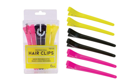 Colortrak 6 pk Pro Hair Clips