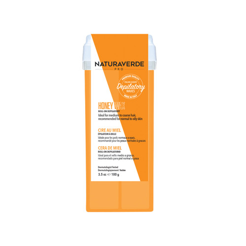Naturaverde Pro Roll-On Honey Wax with Vitamin E