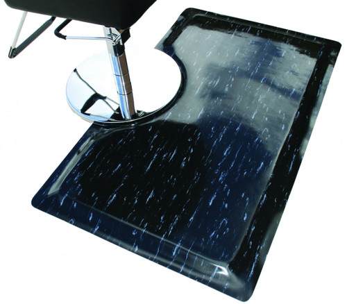 Anti-Fatigue Cushion Rectangle Mat - Marble Finish