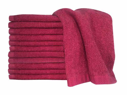 Supreme Hand Towels - Burgundy