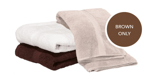 Majestic Bath Sheets - Brown Inventory Reduction Sale