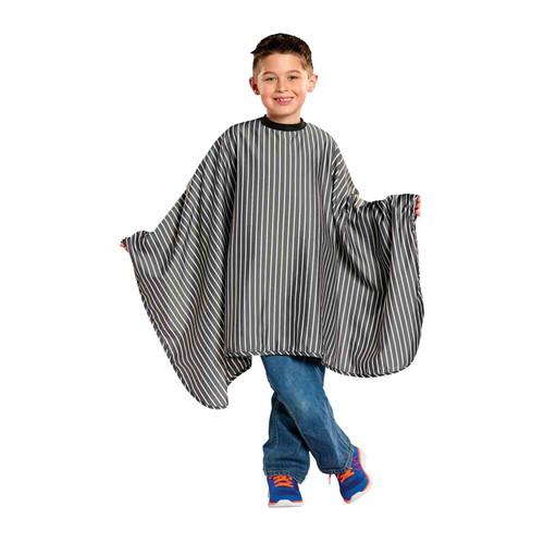 Kids Striped Barber Cape