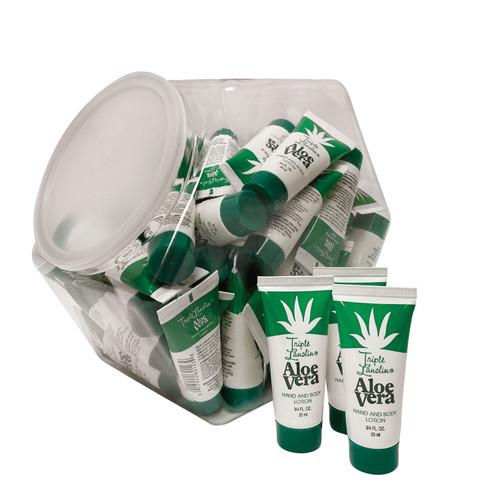 Triple Lanolin Aloe Vera Hand & Body Lotion Goblet