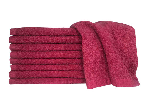 Burgundy Bleach Guard™ Legacy Towels - Inventory Reduction Sale