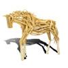 Driftwood Horse Trotting