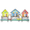 Cabana Sea Village Metal Wall Art OS405