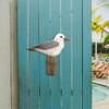 Seagull on Piling Single Wall Wood C755