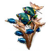 Angelfish Reef Copper Wall Art CO103A