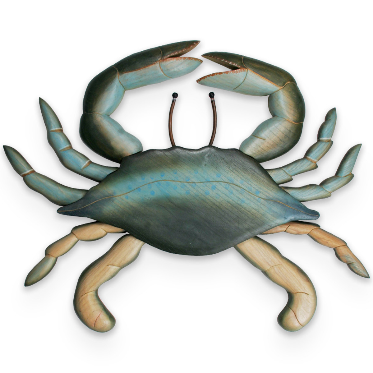 Crab, Wooden Wall Large C162