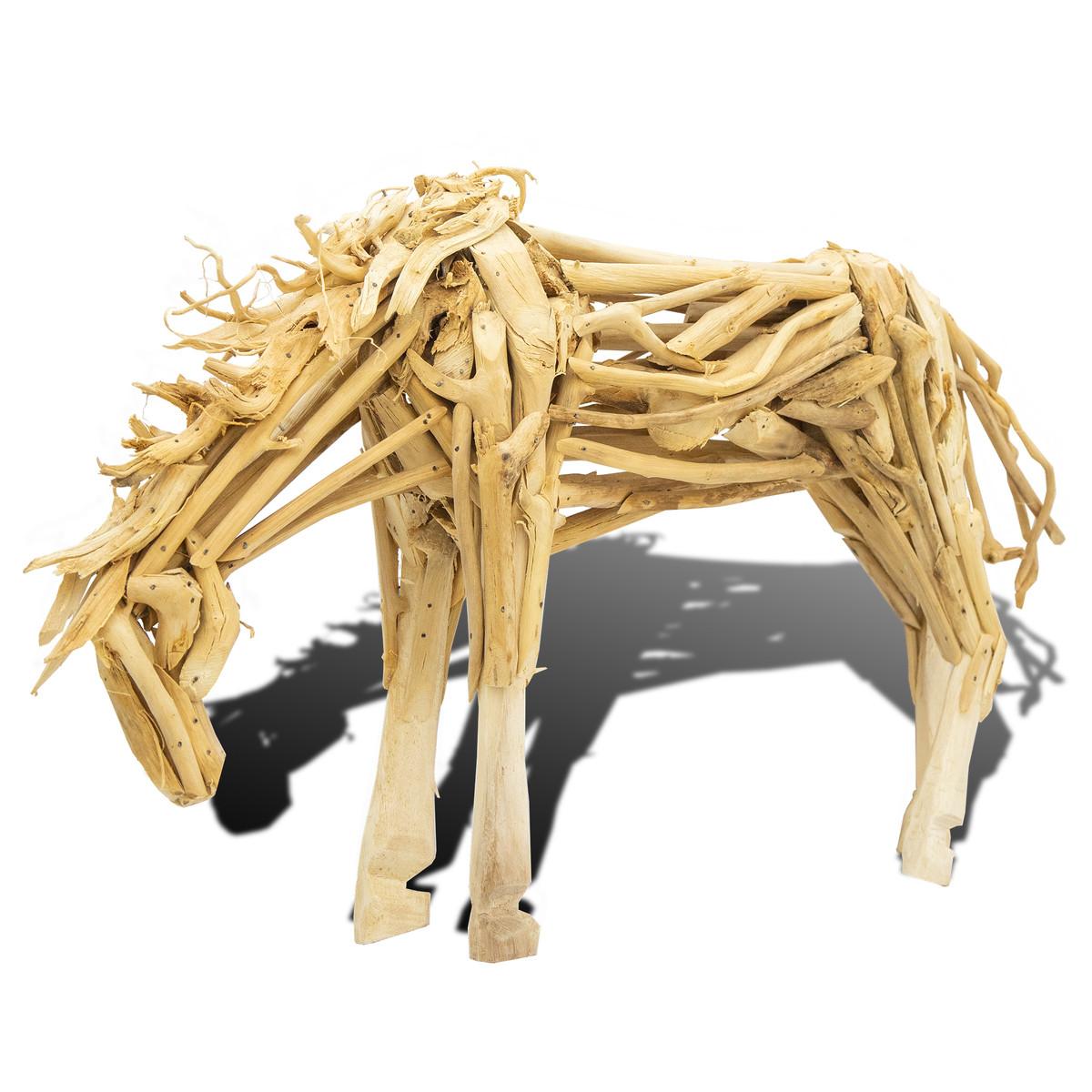 Driftwood Horse Grazing MM413B
