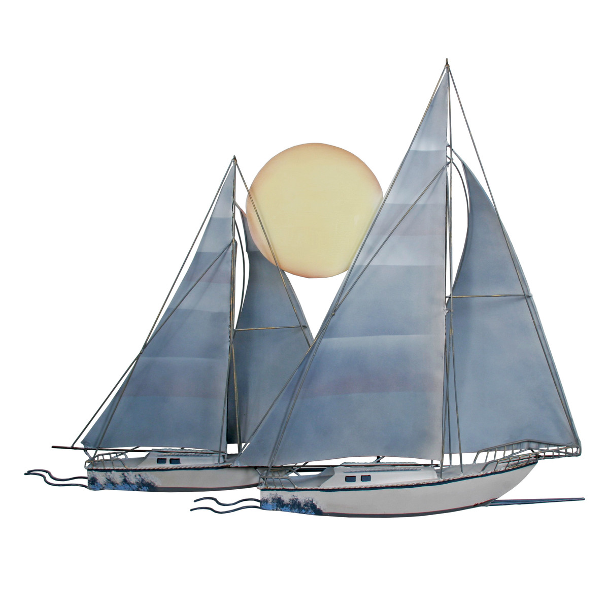 Sunset Sailboat Sculpture
