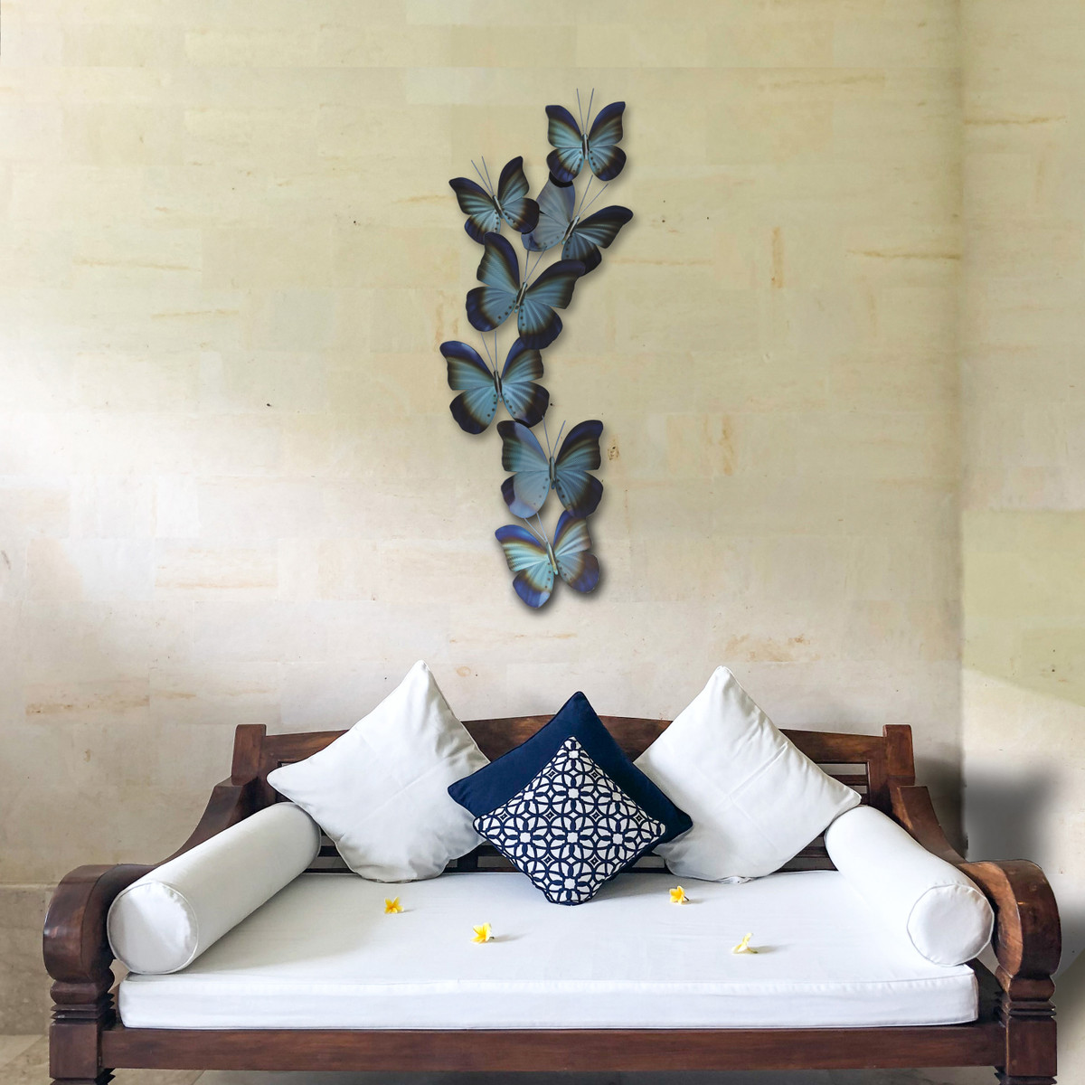 Blue Butterflies, Wall Sculpture