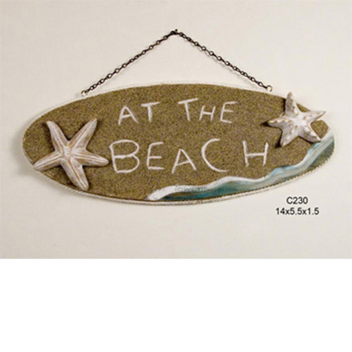 At The Beach sign.