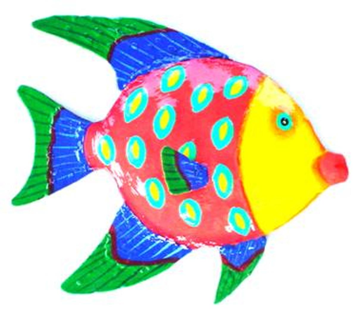 Funky Angelfish Artwork