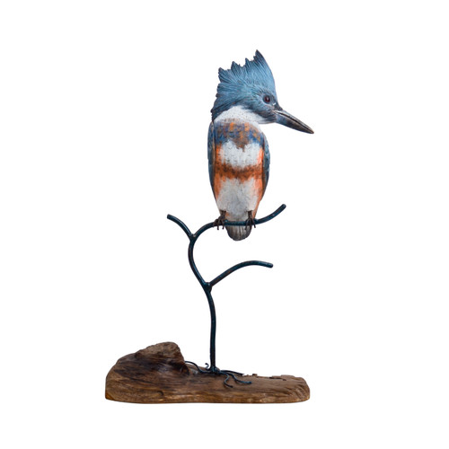 Kingfisher Hand Carved