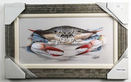 "Blue Crab Painting 30 x 18"" FD41224"
