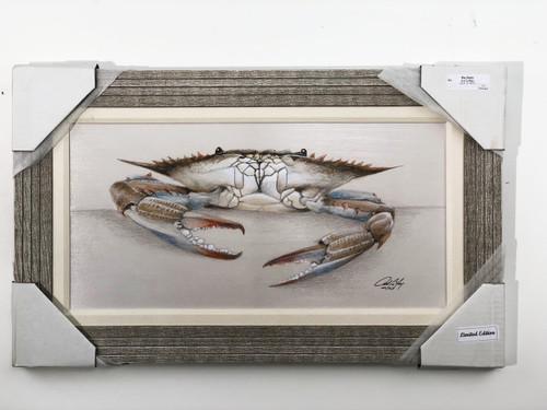 "Blue Crab Painting 30 x 18"" FD41223"