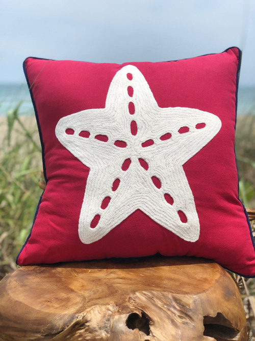Starfish Pillow Indoor.