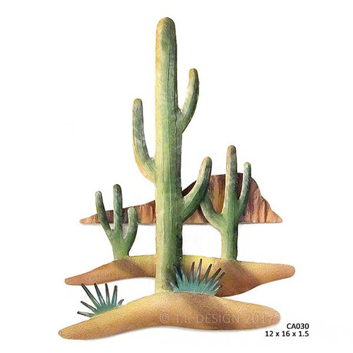 Saguaro Canyon Desert Wall Art