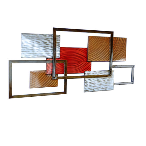 Framed Array III - MM626 Copper Art