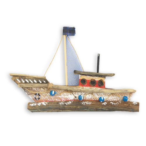 Fishing Boat Beach Wall Art C481