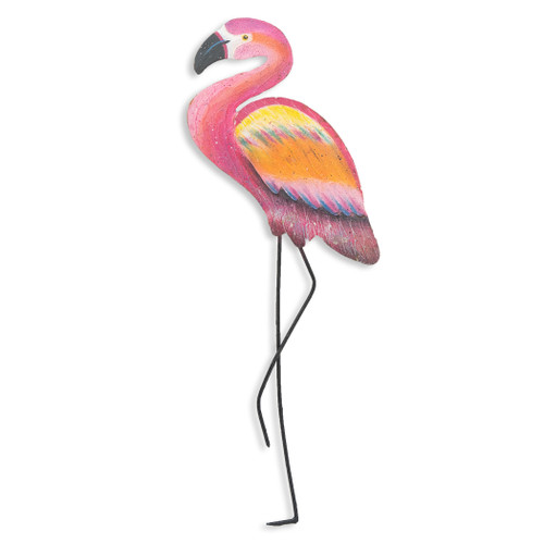 Flamingo Facing Left Wall OS108A