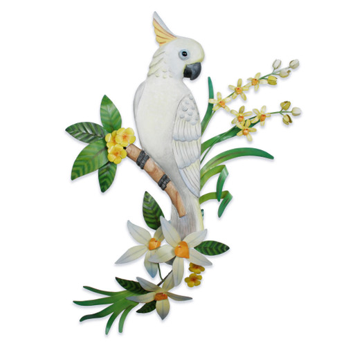 Cockatoo Bird Wall Art CW227