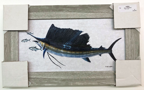 "Sailfish Painting  19""x12"""