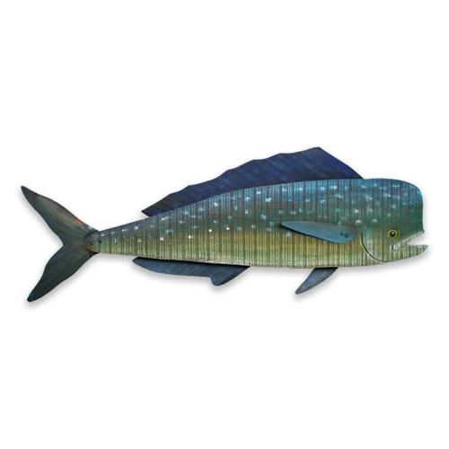 Mahi-Mahi Wall Sculpture Beach Junk C506